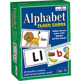 Creative Educational Aids Pre-School - Alphabet Flash Cards (0519)