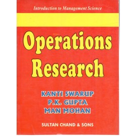 Kanti Swarup Operations research by Sultan Chand & Sons