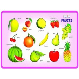 Creative Educational Aids Play and Learn Fruits (0334)