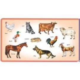 Creative Educational Aids Play and Learn Domestic Animals (0331)
