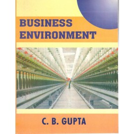 CB Gupta Business Environment by Sultan Chand & Sons
