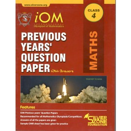 Silver Zone Olympiad Previous Years Question Paper with Answers Mathematics for Class 4