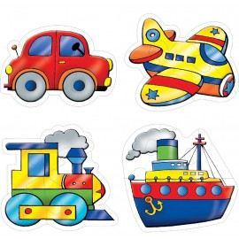 Creative Educational Aids Early Puzzles - Transport (0739)