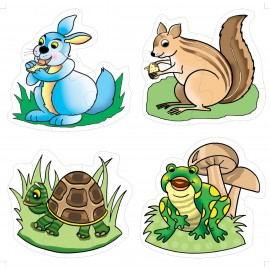 Creative Educational Aids Early Puzzles - Animals (0743)