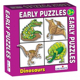 Creative Educational Aids Early Puzzles - Dinosaurs (0744)