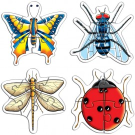Creative Educational Aids Early Puzzles - Insects (0758)