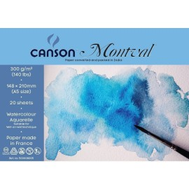 Canson Montval 300 GSM A5 (Pack of 20 Fine Grain Sheets)