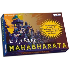 Creative Educational Aids Family Games - Explore Mahabharata (0818)