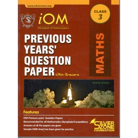 Silver Zone Olympiad Previous Years Question Paper with Answers Mathematics for Class 3