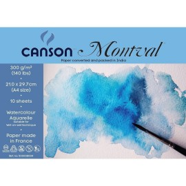 Canson Montval 300 GSM A4 (Pack of 10 Fine Grain Sheets)