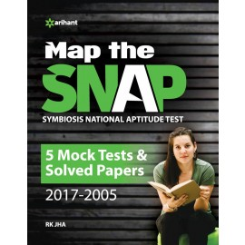 Arihant Solved Paper Map the SNAP (Symbiosis National Aptitude Test) (2019)