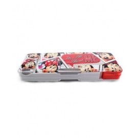 Disney Minnie Mouse Magnetic Pencil Box (Red)