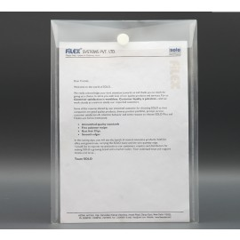 Solo Document Envelope Pack of 10pcs. A4 (CH109)