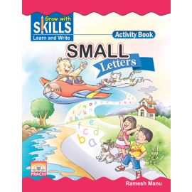 Prachi Grow with Skills Small Letters for Pre-Primary