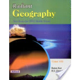 Allied CBSE Rediant Geography Textbook for Class 8