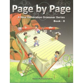 Sapphire Page by Page (A New Generation Grammar Series) for Class 8