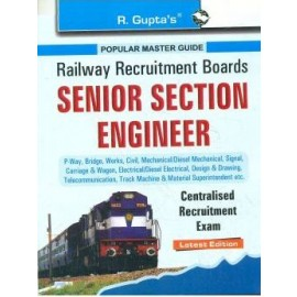 RPH RRB Senior Section Engineer Centralised Recruitment Exam Guide (R-1726) - 2018