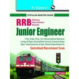 RPH RRB Junior Engineer Centralised Recruitment Exam Guide (R-1727) - 2018