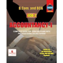 Straight Forward IGNOU B.COM Bachelor's in Commerce - Accountancy 1 (ECO-02)