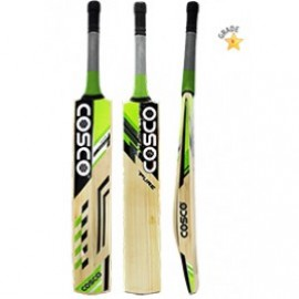 Cosco Pure English Willow Cricket Bat (Full Size)