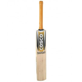 Cosco Double Century Kashmir Willow Cricket Bat (Full Size)