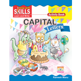 Prachi Grow with Skills Capital Letters for Pre-Primary
