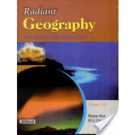 Allied CBSE Rediant Geography Textbook for Class 7