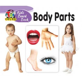 Tricolour Kids Board Book Body Parts