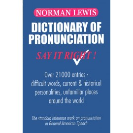 Norman Lewis Dictionary of Pronunciation