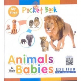 Edu Hub My First Pocket Book of Animals & Their Babies
