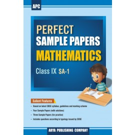 APC Perfect Sample Papers Mathematics for Class 9 (SA-1)