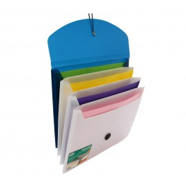 Solo Quadpro 4-Section Expanding Folder A4 (EX905)