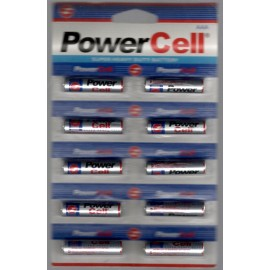 Power Cell Super Heavy Duty Battery (RO3/UM-4/AAA1.5V)  Pack 10