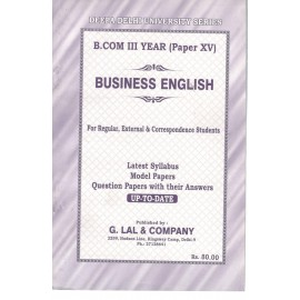 Deepa Delhi University Series Previous Years Solved Papers Business English for B.Com (3rd Year) 2018