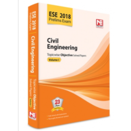 Made Easy ESE Civil Engineering Topicwise Objective Solved Papers Vol -I Edition 12th (2017-18)