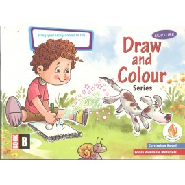 Nurture Draw and Colour Book B
