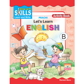 Prachi Grow with Skills Let's Learn English B for Pre-Primary