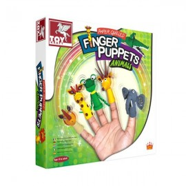 Toy Kraft Paper Quilling Finger Puppets