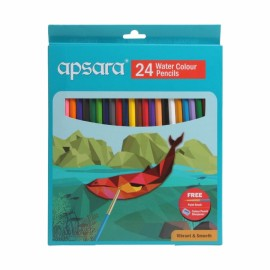 Apsara  Water Color Pencils (12 Assorted Colors)