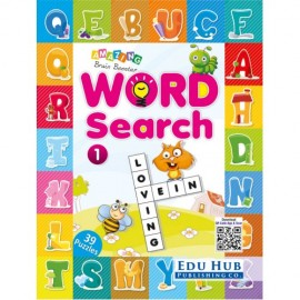 Edu Hub Amazing Brain Booster Word Search Book 1