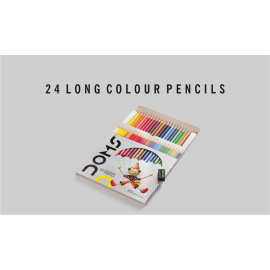 Doms Colour Long Pencils FSC 24 Shades