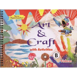 Vishvas Art & Craft with Activities Book Stage B with Art Material for Pre Primer