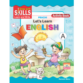 Prachi Grow with Skills Let's Learn English A for Pre-Primary