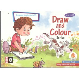 Nurture Draw and Colour Book C