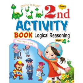 2nd Activity Book Logical Reasoning (Manoj Publications)