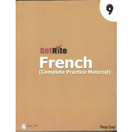 Langers SetRite French (Complete Practice Material) for Class 9