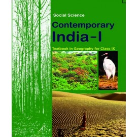 NCERT Contemporary India 1 Textbook of Geography for Class 9 (Code 968)