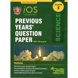 Silver Zone Olympiad Previous Years Question Paper with Answers Science for Class 5