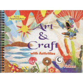 Vishvas Art & Craft with Activities Book Stage C with Art Material for Pre Primer