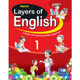 Prachi Layers of English Textbook for Class 1